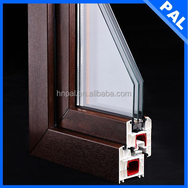 high-end esay install and energy saving 100% upvc window and door company with long life span