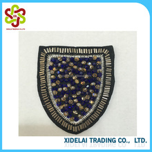 Wholesale Price Sequin Rhinestone Beaded Applique Patch