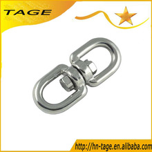 Stainless Steel 304 Marine Mooring Swivel With Eye to Eye For Pet Ring Dog Chain