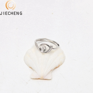 925 silver cultural pearl ring mountings pearl jewelry mounting