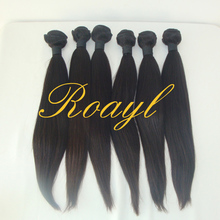 "8""-28""Unprocessed Brazilian Virgin Hair Extension Silky Straight Wave Human Hair Weaves Natural Color Dyeable Bleachable 100g/pc"
