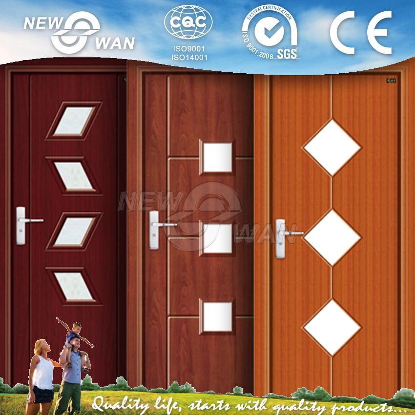 Latest designs pvc wooden door pvc bathroom door prices for Pvc bathroom door designs