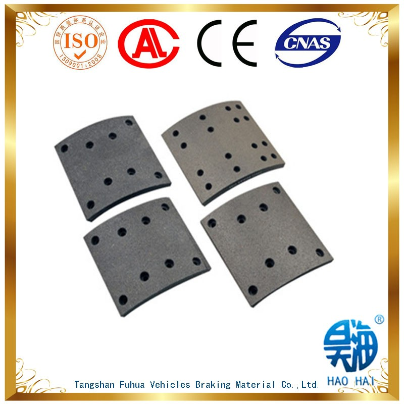 Professional non asbestos brake lining 19488 for mercedes spare parts