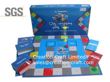 Oem board game fabricante chino con un costo barato