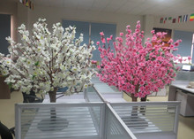 2015 hot sale wedding high table decor decorations, artificial cherry blossom tree /cherry blossom wedding decor