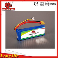 storm rc hobby ge power 7.4v 2200mAh li-ion polymer battery