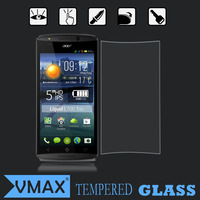 Wholesale cell phone accessories tempered glass screen protector for acer liquid e700 screen guard
