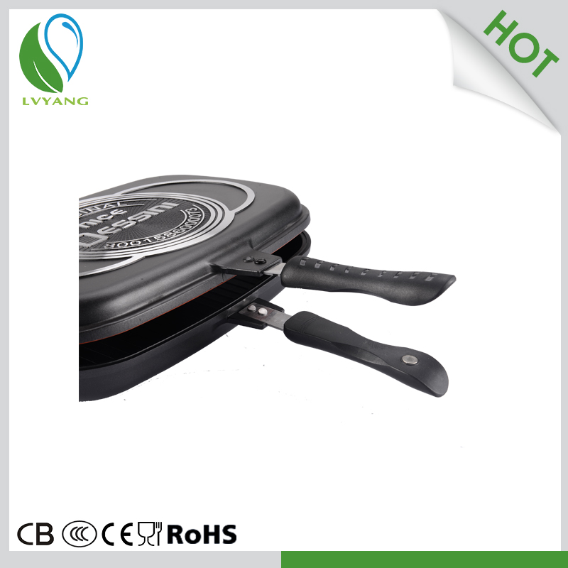 With Quality Warrantee Double Sided Frying Pan Non Stick