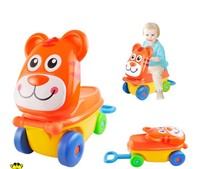 Lovely ride on car toy wholesale children mini trolley suitcase