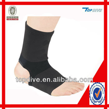 Medical elasticated ankle support