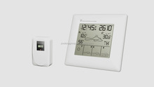 Wireless Weather Forecast Smart Clock With Indoor And Outdoor Humidity Weather Clock