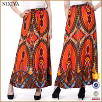 Traditional african long skirt ethnic indian long skirts