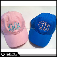 Embroidered Bridesmaid Summer Beach Ladies Monogrammed Baseball Hat