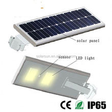 6m pole 30w solar street light project outdoor street lighting
