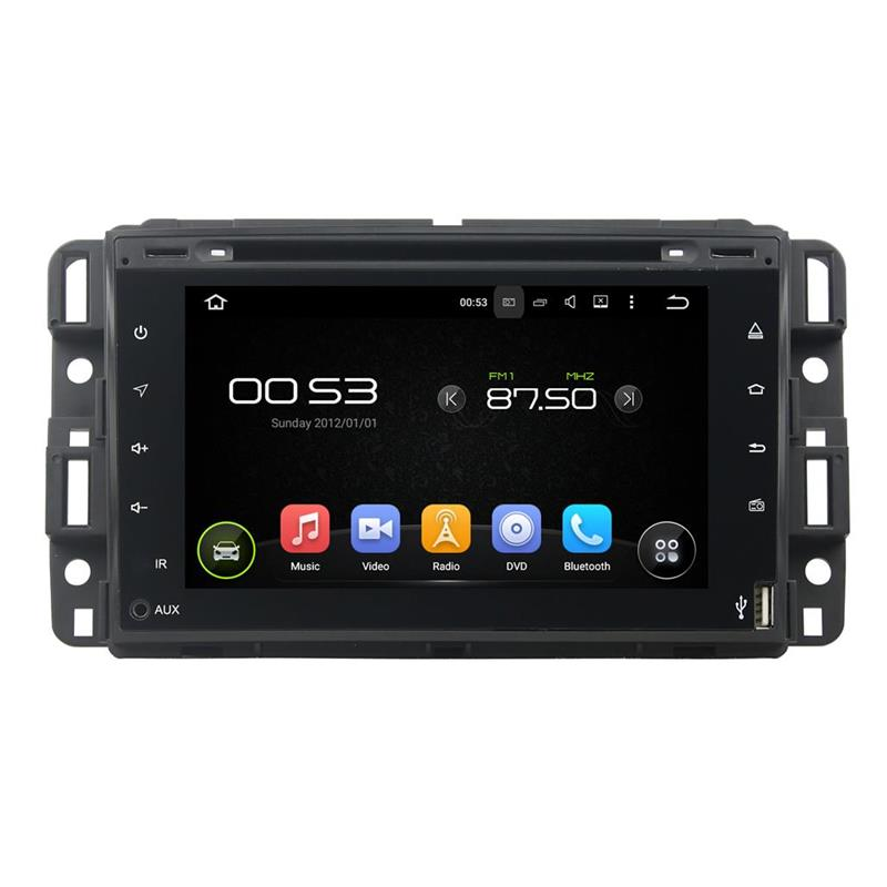 PX3 Wifi/GPS/Radio/Music/Video/Bluetooth/DAB+/Parrot BT full touch Android 5.1 car dvd player for GMC 2016