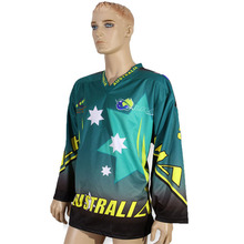 Wholesale custom sublimation ice hockey jersey for sale
