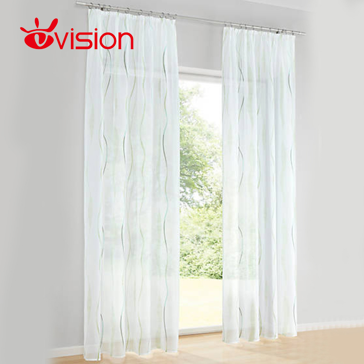 Luxury European Style Home Decorative Blackout Living Room Bay Window Curtain, Royal Ready Made Drapery Window Curtain