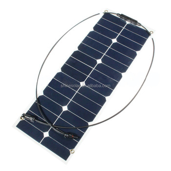 price per watt 30w 12v transparent solar panels for home