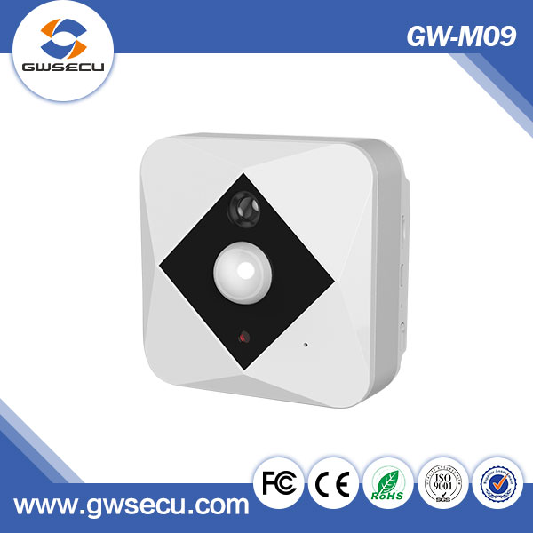 Support SD Card 128GB Rechargeable Wifi IP Camera with Built-in Battery