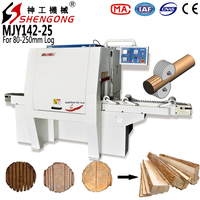 Shengong Round Log Multi Rip Saw