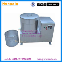 Stainless steel potato chips oil-water separator, fried food deoiling machine