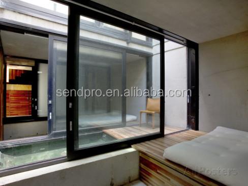 Prezzo pi basso profilo di alluminio finestre scorrevoli - Finestre doppi vetri ...