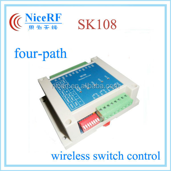 16 channel 3KM distance Four-path SK108 power switch wireless rf remote control module