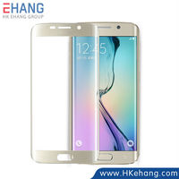 New Product Metal Tactile Impression colorful full cover screen protector film for samsung