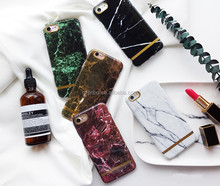 5 styles chose jade green and purple jade color white marble for iphone 7 plus case