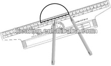 KEARING, 30CM ARCHITECTURAL ROLLING PARALLEL GLIDER METRIC,ROLLER RULERS, #MPR30