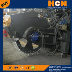 HCN 0305 tractor mount round digging concrete road saw cutter