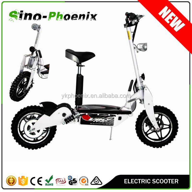 CE approval 14inch tire adult folding electric scooter 48v 1000w for sale ( PES01-B )