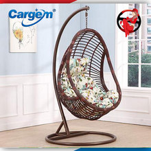 Cargem colorful garden egg hanging adult swing chair