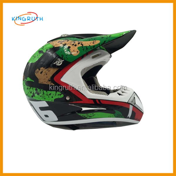 2016 New Style Dirt Bike Motocross Helmet Off Road Professional Racing custom cheap motorbike helmet