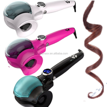 Auto Steam Ceramic Wave Water Care Hair Curler Tools lcd curling irons