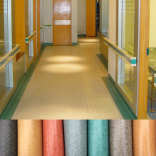 Pvc Floor Covering/ Indoor Marble Vinyl Roll/ Plastic Flooring