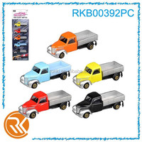 5pcs alloy pull back pickup model toy