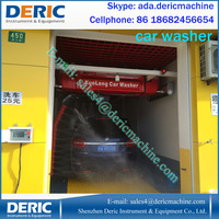 Touchless automatic car wash prices with foam washing and air dryer