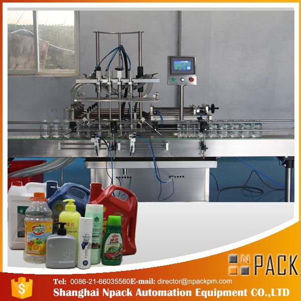 widely used bottling Bleach filler machine