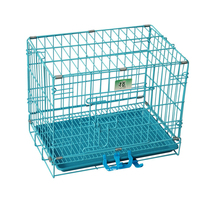 transport animal strong wire collapsible dog cage
