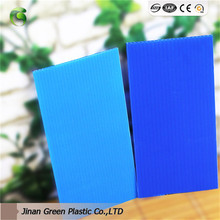 Custom-made Correx PP Corrugated Plastic Cardboard Sheets