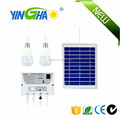 Camping solar panel kit for lighting with mobile charger Item YH1002H