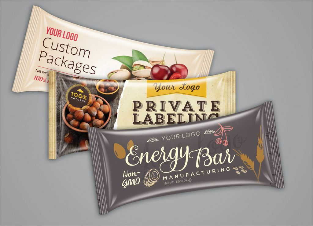 Private Label Energy Bars (5,000+)