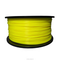 Dimensional Accuracy +/-0.02mm 2.2 LBS 1KG Spool Yellow 1.75 mm PLA 3D Filament for Most 3D Printer 3D Printing Pen