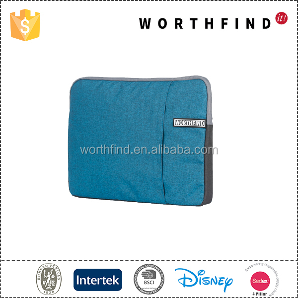 2016 OEM New Durable polyester laptop sleeve laptop holder with high quality