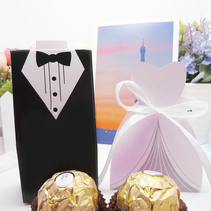 bride and groom box wedding favour boxes manufacturer China