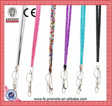 cheap sparkle rhinestone lanyards