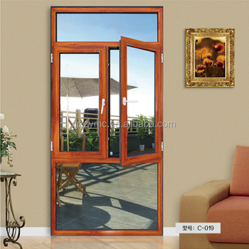 chinese aluminium frame casement window with rolling invisible flyscreen malaysia