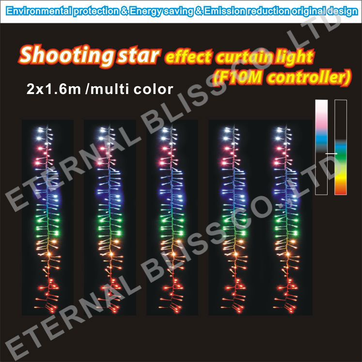 Twinkling firecracker firework led cluster christmas lights