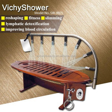 New style wooden vich shower bed hydrotherapy spa equipment